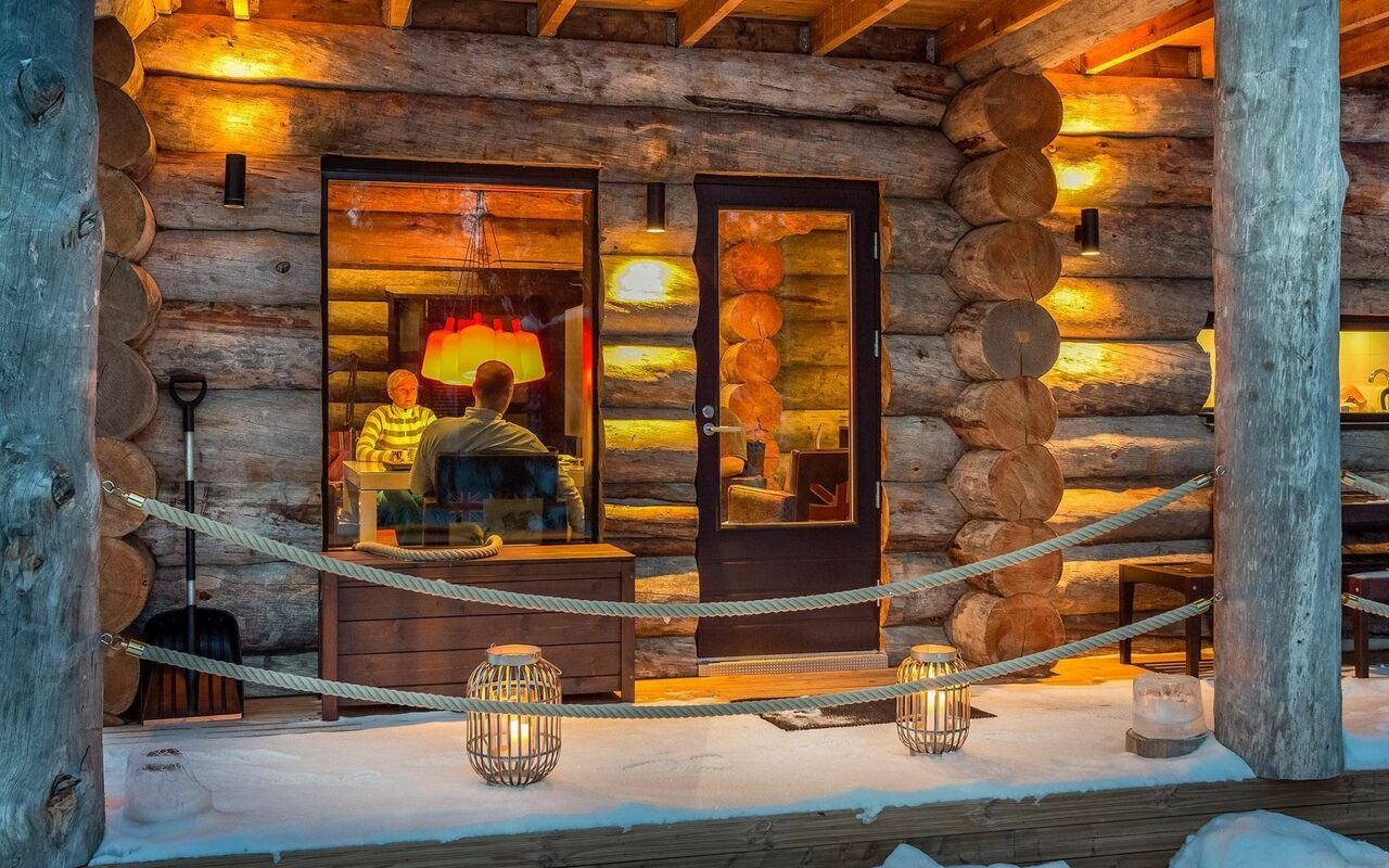 Kuusamo Ferienunterkunft   Ruka Ski Chalet Finland mit ...